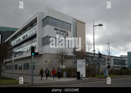 Clydebank  West College ,West of Scotland Campus - Stock Photo