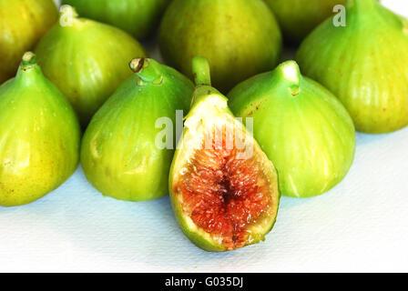 Ripe figs - Stock Photo