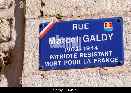 Place Mirabeau Martigues Provence 13 France - Stock Photo