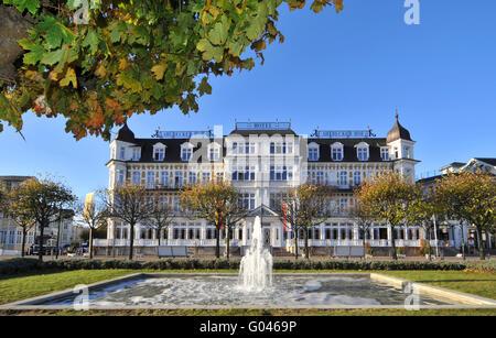 Hotel ahlbecker hof in ahlbeck usedom island stockfoto for Guesthouse hof island