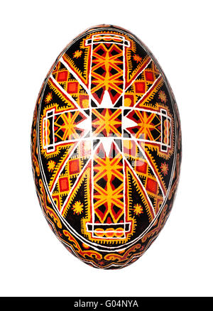 Ukrainian easter egg - Stock Photo