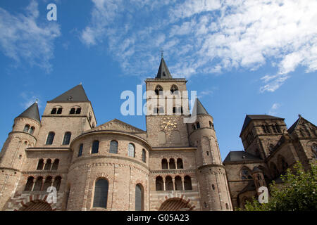 Liebfrauenkirche and Cathedral. Trier - Stock Photo