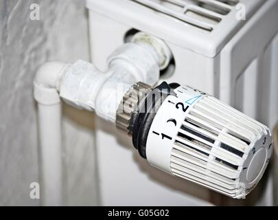 heating thermostate - Stock Photo