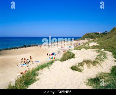 Loenstrup beach,  northern Jutland, Denmark, Scandinavia, Europe - Stock Photo