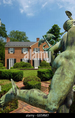 Glen Burnie House And Gardens. Winchester. Virginia. USA   Stock Photo