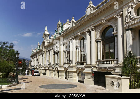 Monaco, Monte Carlo, building next to the casino - Stock Photo