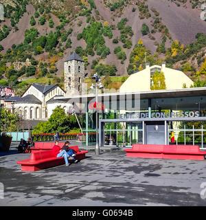 Centre de Congressos. Andorra la Vella. Andorra - Stock Photo