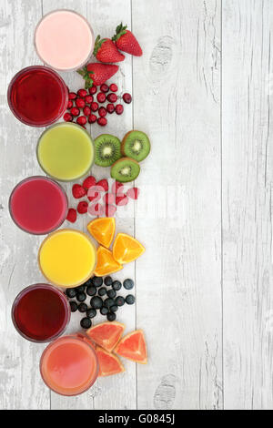 fruit display healthy fruit smoothie ingredients