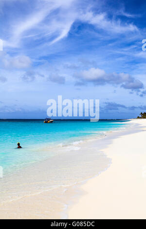 Shoal Bay in Anguilla - Stock Photo