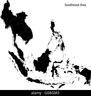 Black Southeastern Asia - Stock Photo