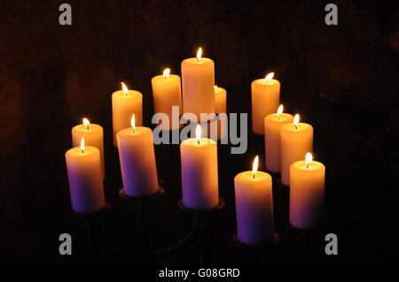 Candlelight - Stock Photo