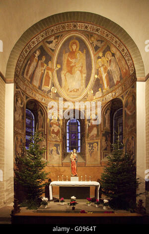 The St. Patrokli Cathedral at Soest in Germany. - Stock Photo