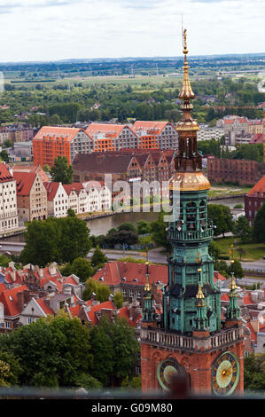 Gdansk Old Town, Poland - Stock Photo