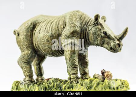 Rhino Statue - Stock Photo