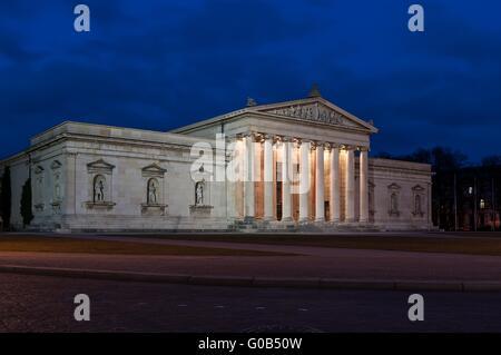 Munich Glyptothek king place - Stock Photo