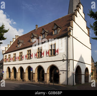 Old Town Hall Ruhr valley museum Schwerte, Germany - Stock Photo
