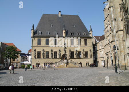 The town hall in Osnabrück - Stock Photo