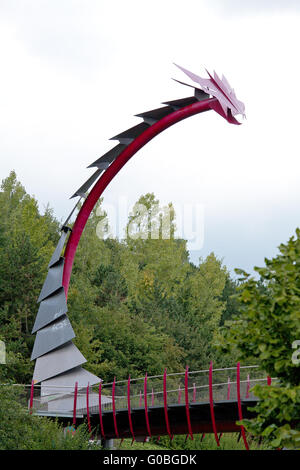 The dragon bridge - Stock Photo