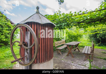 Old water fountain - Stock Photo