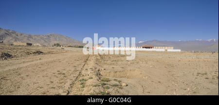 New school near Kabul in Afghanistan - Stock Photo