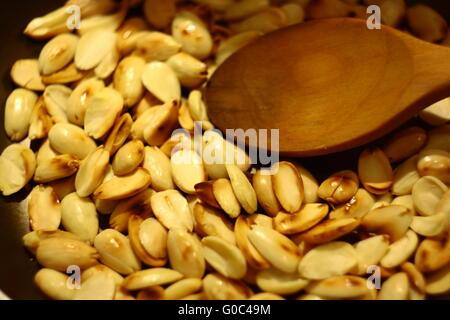 making traditional food asure - Stock Photo