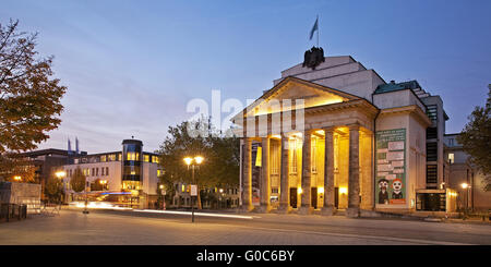 State Theatre, Detmold, Germany - Stock Photo