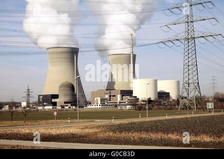 Gundremmingen nuclear power plant - Stock Photo