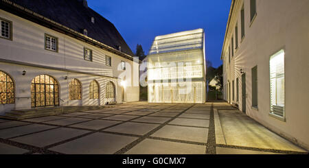 Wedinghausen monastery and light house, Arnsberg - Stock Photo