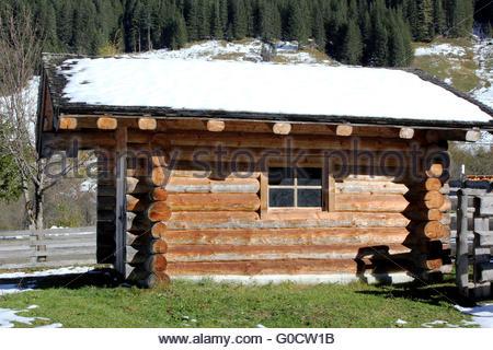 Winter Alps austria - Stock Photo
