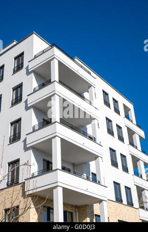 a modern apartment house seen in the hafencity in hamburg stock photo royalty free image. Black Bedroom Furniture Sets. Home Design Ideas