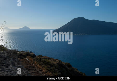 Aeolian islands - Stock Photo