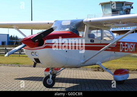 Single-Engine Aircraft - Stock Photo