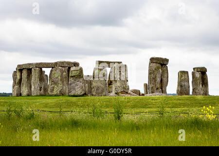 Stonehenge, UK - Stock Photo