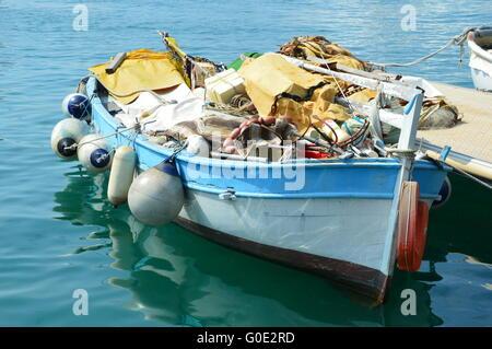 Job of the fisherman - Stock Photo