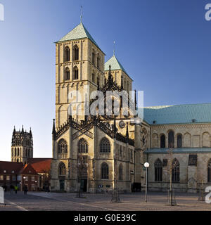 Muenster Cathedral (St.-Paulus-Dom), Germany - Stock Photo