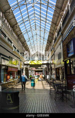 The Arcade Covered Shopping Arcade Nashville Tennessee USA Stock - First shopping center in usa