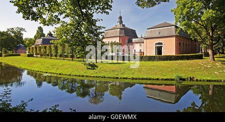 Castle Wickrath, Moenchengladbach, Germany - Stock Photo