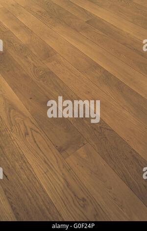 Wooden Floor Oak Parquet Wood Flooring Oak Laminate Stock Photo