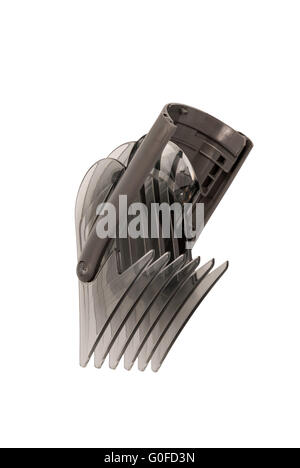 Forming head to the hairclipper isolated on white background - Stock Photo