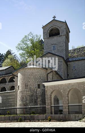 Monastery of Cetinje - Stock Photo