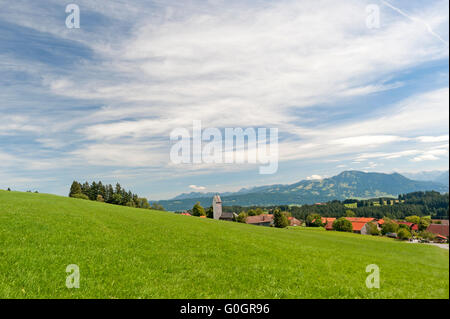 Diepholz in Oberallgäu, Southern Germany - Stock Photo