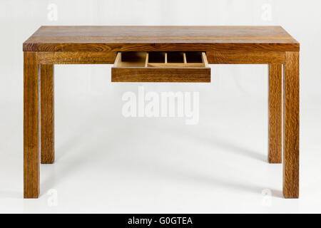 wooden table - Stock Photo