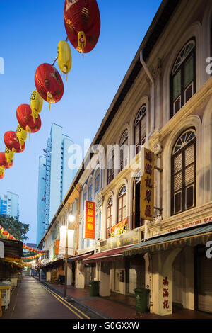South East Asia, Singapore, chinatown - Stock Photo