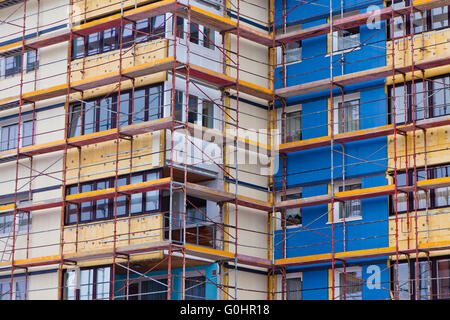 House is being renovated. Insulation - Stock Photo