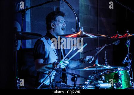 Milan, Italy 24th april 2016 Nada Surf perform live at La Salumeria della Musica in Milan © Roberto Finizio/ Alamy - Stock Photo
