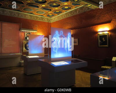 Wroclaw, Poland. 24th Apr, 2016. The Pan Tadeusz exhibition in the Pan Tadeusz Museum in Wroclaw, Poland, 24 April - Stock Photo