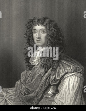 John Graham of Claverhouse, 1st Viscount Dundee, 7th Laird of Claverhouse, 1648-1689, a Scottish soldier and nobleman - Stock Photo