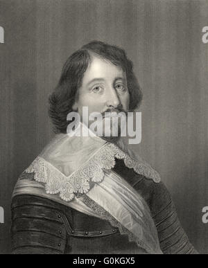 Archibald Campbell, 1st Marquess of Argyll, 8th Earl of Argyll, 1607-1661, the head of government in Scotland during - Stock Photo