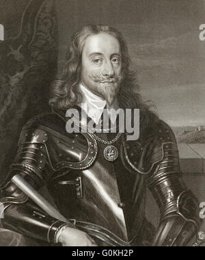 Charles I, 1600 - 1649, king of England, Scotland and Ireland - Stock Photo