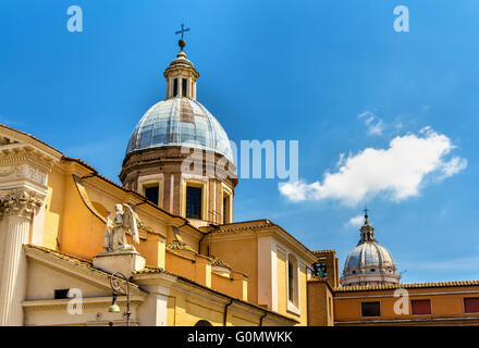 Church San Rocco in Rome, Italy - Stock Photo